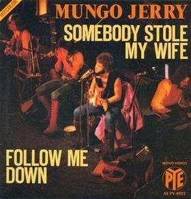 Coverafbeelding Somebody Stole My Wife - Mungo Jerry