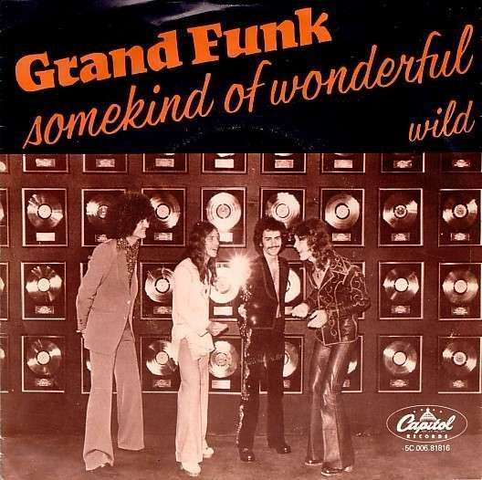 Coverafbeelding Grand Funk - Some Kind Of Wonderful ((1975)) / Somekind Of Wonderful ((1979))