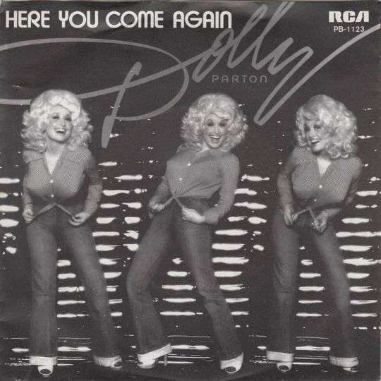 Coverafbeelding Here You Come Again - Dolly Parton