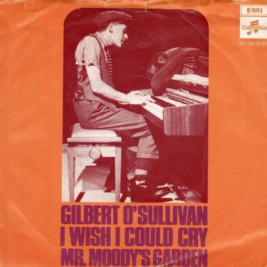 Coverafbeelding I Wish I Could Cry - Gilbert O'sullivan