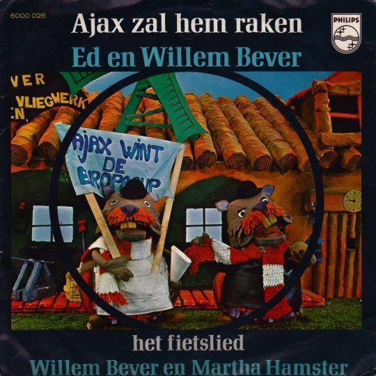 Coverafbeelding Ajax Zal Hem Raken - Ed En Willem Bever