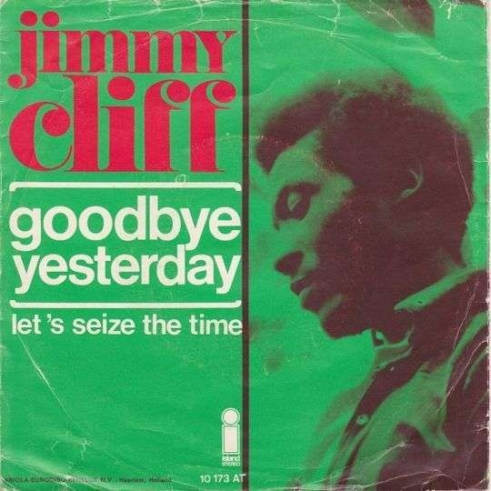 Coverafbeelding Goodbye Yesterday - Jimmy Cliff