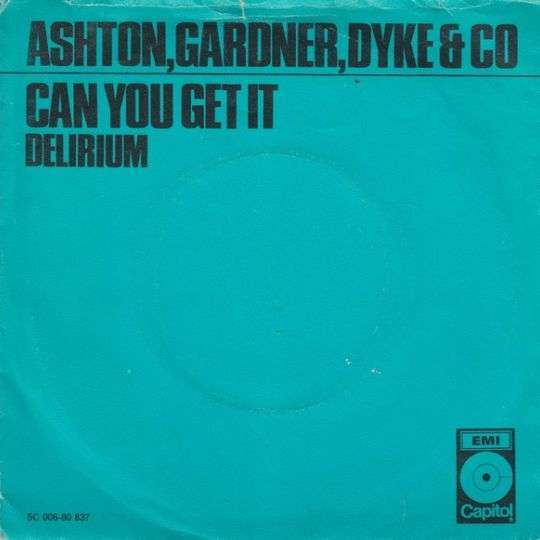 Coverafbeelding Can You Get It - Ashton, Gardner, Dyke & Co