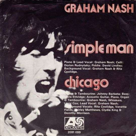 Coverafbeelding Graham Nash - Chicago