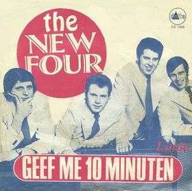 Coverafbeelding Geef Me 10 Minuten - The New Four