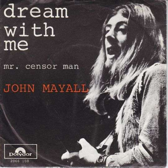 Coverafbeelding Dream With Me - John Mayall