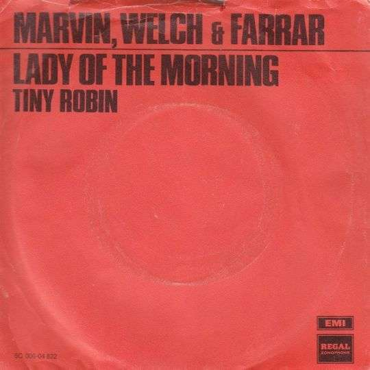 Coverafbeelding Lady Of The Morning - Marvin, Welch & Farrar