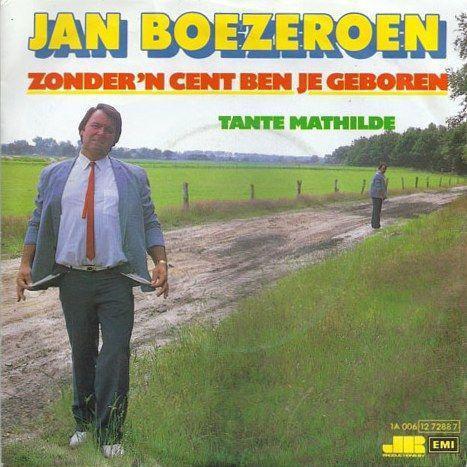 Coverafbeelding Zonder 'n Cent Ben Je Geboren - Jan Boezeroen