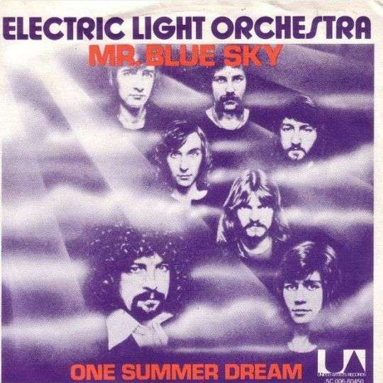 Coverafbeelding Electric Light Orchestra - Mr. Blue Sky