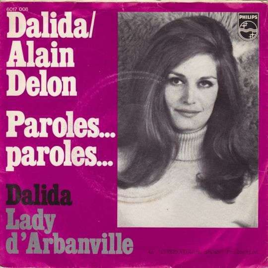 Coverafbeelding Paroles... Paroles... - Dalida/alain Delon