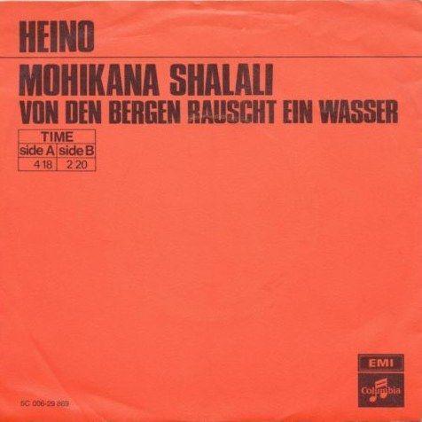 Coverafbeelding Mohikana Shalali - Heino