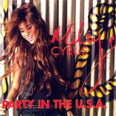 Coverafbeelding Miley Cyrus - Party In The U.S.A.