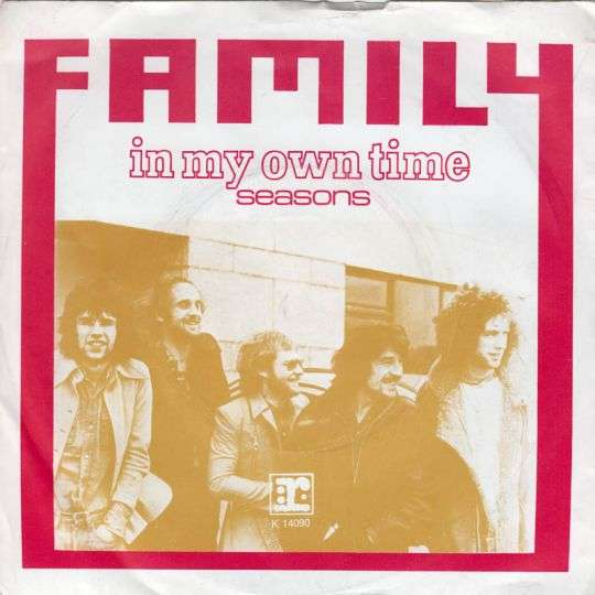 Coverafbeelding In My Own Time - Family