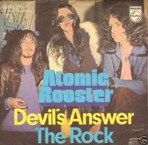 Coverafbeelding Devil's Answer - Atomic Rooster