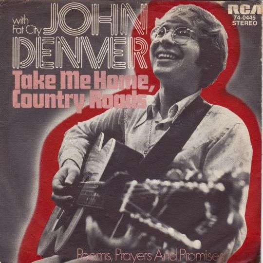 Coverafbeelding John Denver with Fat City - Take Me Home, Country Roads