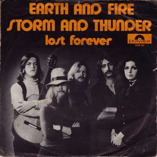 Coverafbeelding Storm And Thunder - Earth And Fire
