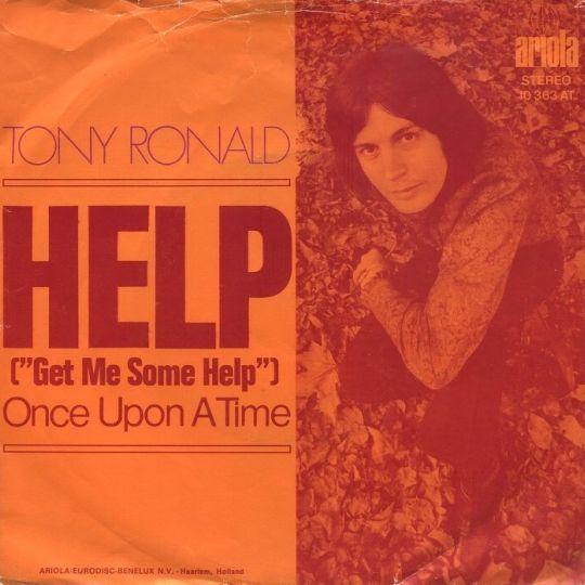 Coverafbeelding Help (Get Me Some Help) - Tony Ronald