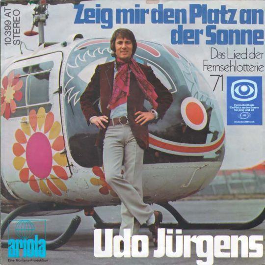Coverafbeelding Zeig Mir Den Platz An Der Sonne - Udo Jürgens