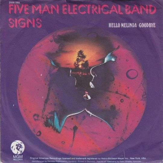 Coverafbeelding Five Man Electrical Band - Signs