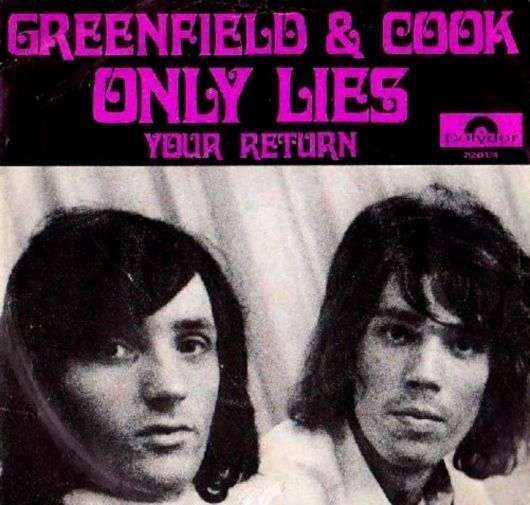 Coverafbeelding Greenfield & Cook - Only Lies