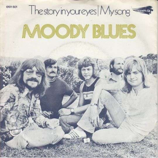 Coverafbeelding The Story In Your Eyes - Moody Blues