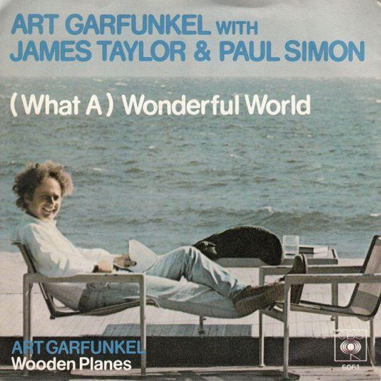 Coverafbeelding Art Garfunkel with James Taylor & Paul Simon - (What A) Wonderful World