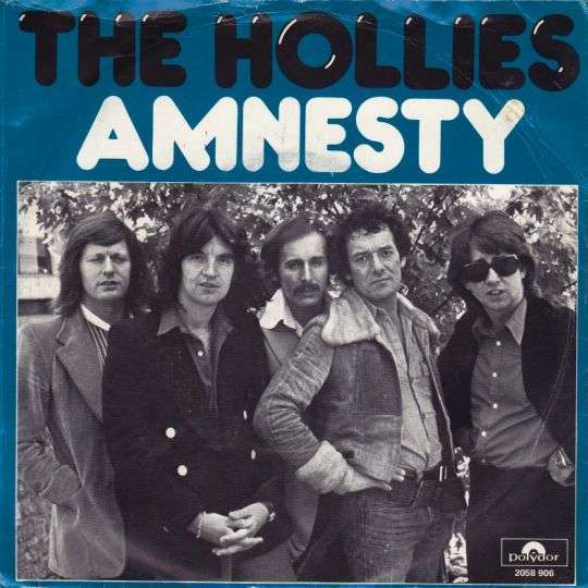Coverafbeelding Amnesty - The Hollies