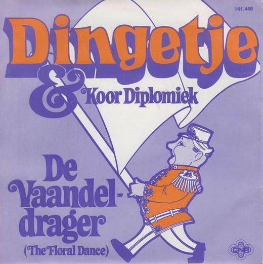 Coverafbeelding De Vaandeldrager (The Floral Dance) - Dingetje & Koor Diplomiek
