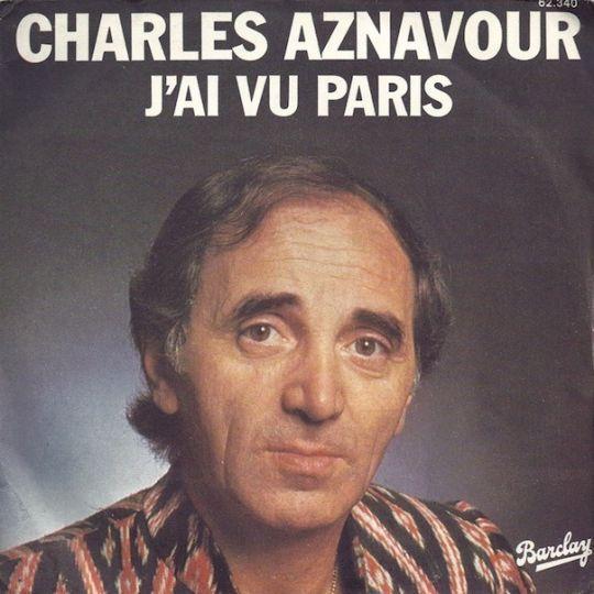 Coverafbeelding J'ai Vu Paris - Charles Aznavour