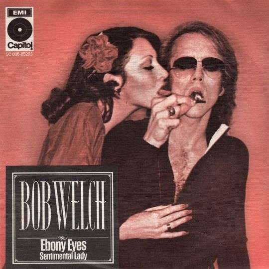 Coverafbeelding Bob Welch - Ebony Eyes
