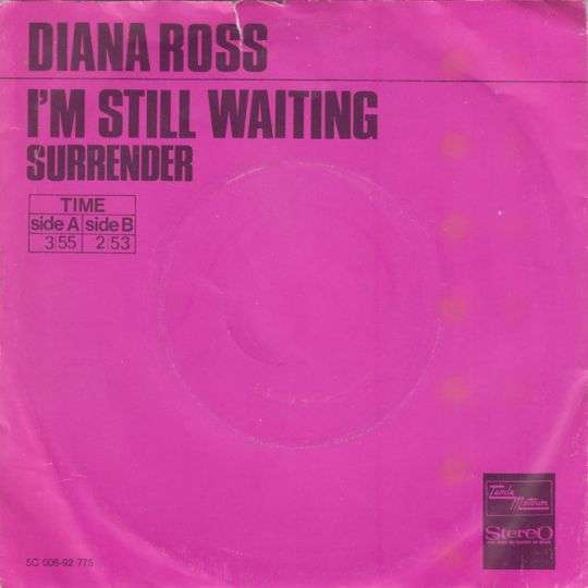 Coverafbeelding Diana Ross - I'm Still Waiting