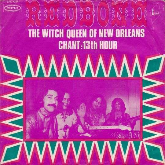 Coverafbeelding The Witch Queen Of New Orleans - Redbone