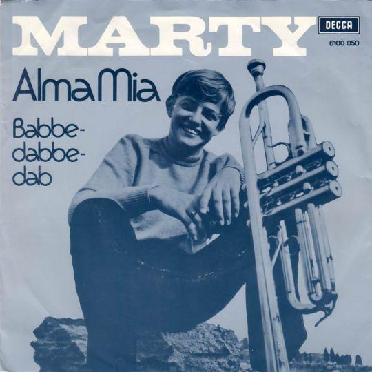 Coverafbeelding Alma Mia - Marty