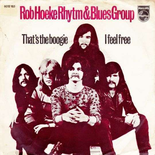 Coverafbeelding That's The Boogie - The Rob Hoeke Rhythm & Blues Group