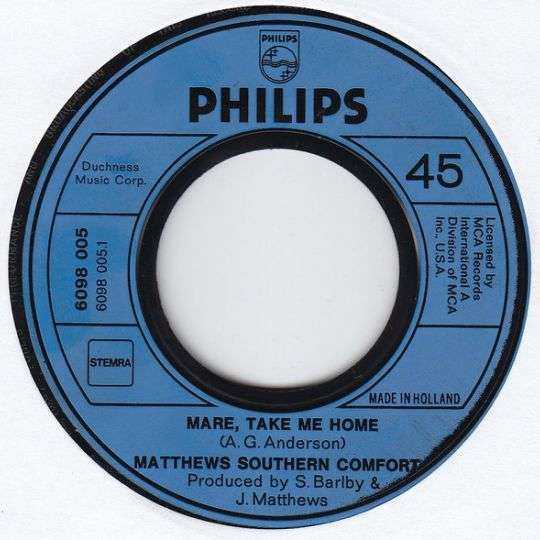 Coverafbeelding Mare, Take Me Home - Matthews Southern Comfort