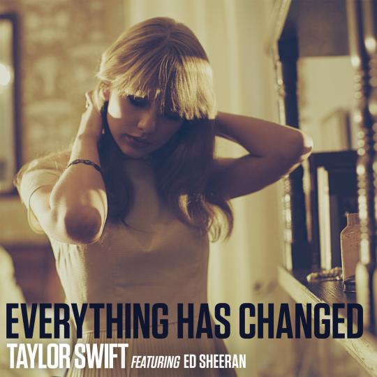 Coverafbeelding Everything Has Changed - Taylor Swift Featuring Ed Sheeran