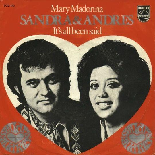 Coverafbeelding Mary Madonna - Sandra & Andres