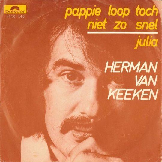 Coverafbeelding Pappie Loop Toch Niet Zo Snel - Herman Van Keeken