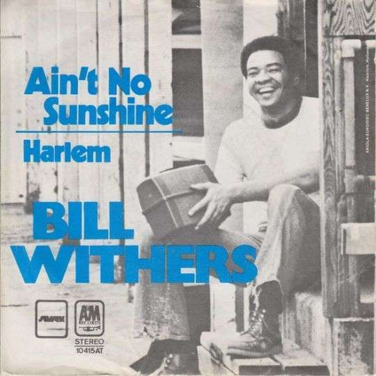 Coverafbeelding Ain't No Sunshine - Bill Withers