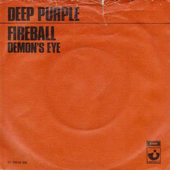Coverafbeelding Fireball - Deep Purple