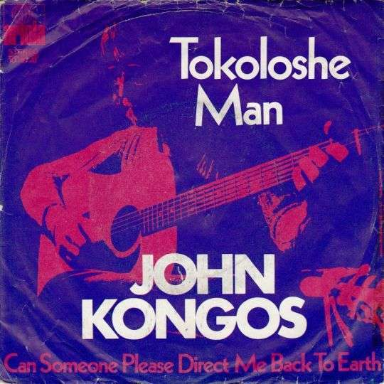 Coverafbeelding Tokoloshe Man - John Kongos