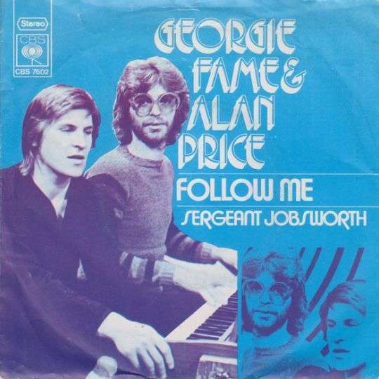 Coverafbeelding Follow Me - Georgie Fame & Alan Price