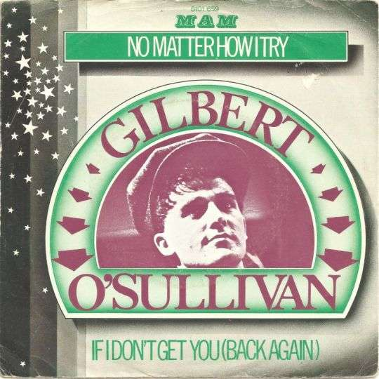 Coverafbeelding No Matter How I Try - Gilbert O'sullivan