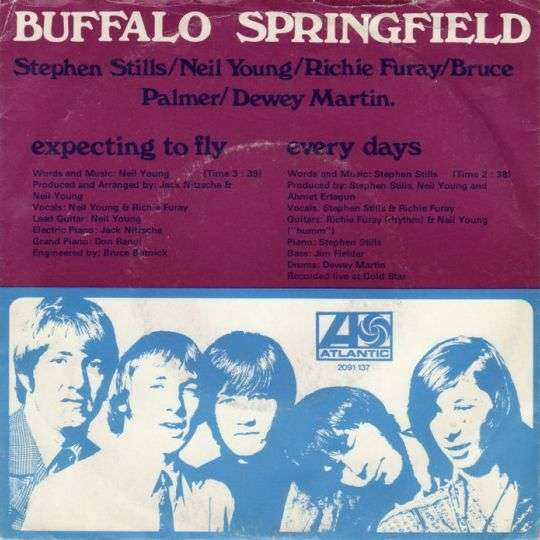 Coverafbeelding The Buffalo Springfield - Expecting To Fly