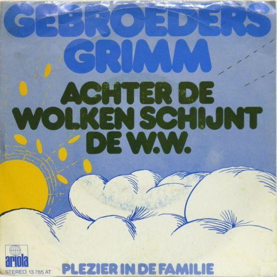 Coverafbeelding Achter De Wolken Schijnt De W.w. - Gebroeders Grimm