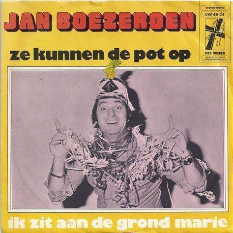 Coverafbeelding Ze Kunnen De Pot Op - Jan Boezeroen