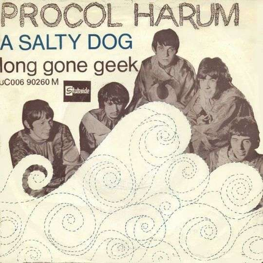 Coverafbeelding A Salty Dog - Procol Harum