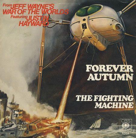 Coverafbeelding Jeff Wayne featuring Justin Hayward - Forever Autumn