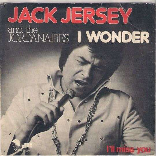 Coverafbeelding Jack Jersey and The Jordanaires - I Wonder