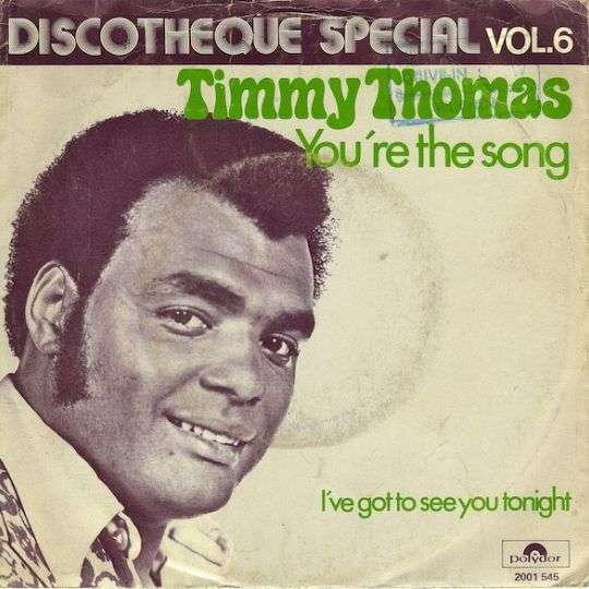 Coverafbeelding Timmy Thomas - You're The Song